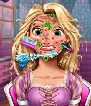 Play Rapunzel Skin Doctor Game