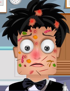 Play Zoe Skin Doctor Game