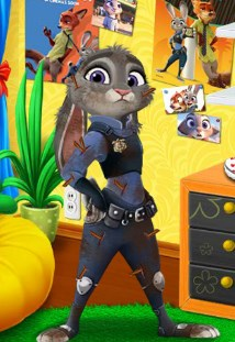 Play Judy Hoops Into Police Trouble Game