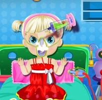 Play Sick Baby Healing Game