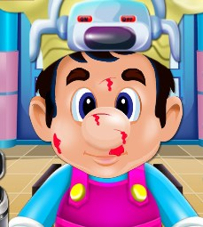 Play Crazy Chef Nose Doctor Game