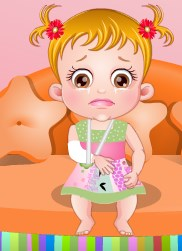 Play Baby Hazel Hand Fracture Game