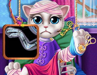 Play Kitty Hospital Recovery Game