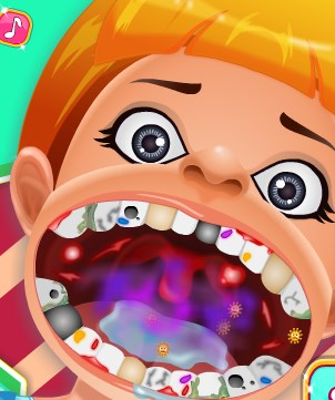 Play Baby Oral Treatment Game