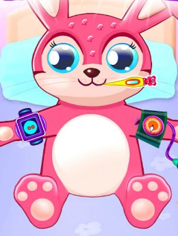 Play Doctor Rabbit Caring Game
