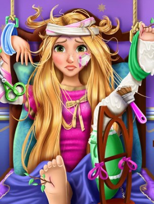 Play Blonde Princess Hospital Recovery Game