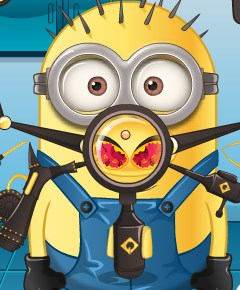 Play Minion Nose Doctor Game