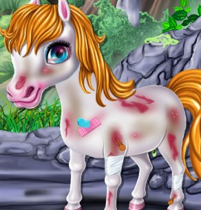 Play Little Pony First Aid Game