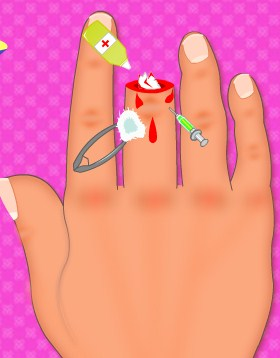 Play Finger Surgery Game