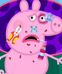 Play Peppa Pig Injured Game