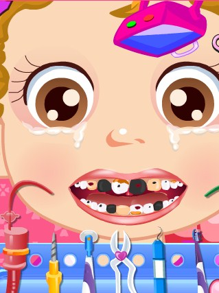 Play Baby Dentist Game
