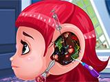 Play Baby Girl Ear Surgery Game
