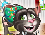 Play Talking Tom Cat Ear Surgery Game