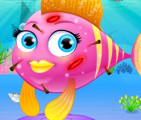 Play My little baby fish Game