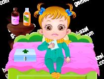 Play Baby Hazel Goes Sick Game