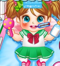 Play Cute Baby cold doctor Game