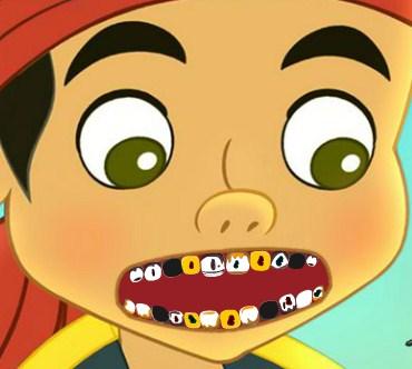 Play Jake Y Los Piratas At The Dentist Game