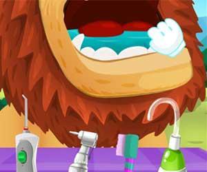 Play Savanna Dentist Game