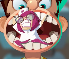 Play Mia Dentist Burger Game