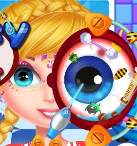 Play Crazy Eyes Doctor Game
