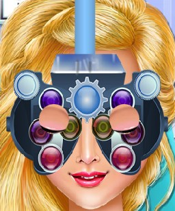 Play Camilles Eye Care Game