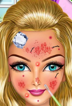 Play Allegra's Beauty Care Game