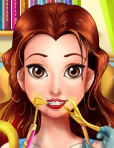Play Perfect Dentist Princess Belle Game