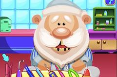 Play Santa Dentist Game
