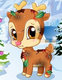 Play Pet Stars Cute Reindeer Game