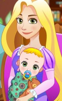 Play Rapunzel Birth A Newborn Baby Game