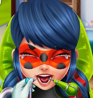 Play Miraculous Hero Real Dentist Game