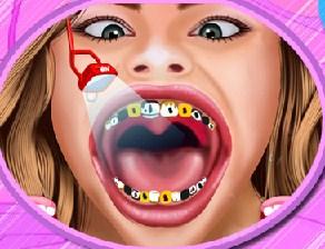 Play Hannah Montana at the Dentist Game