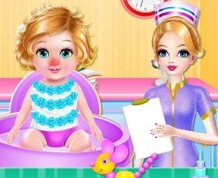 Play Labonita Nurse and Baby Care Game