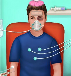 Play Justin in Hospital Game
