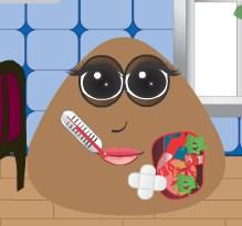Play Pou Girl Heart Surgery Game