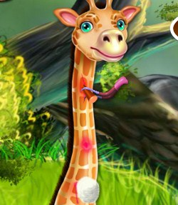 Play Giraffe Medical Care Game