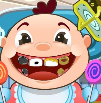 Play Baby at Dentist Game
