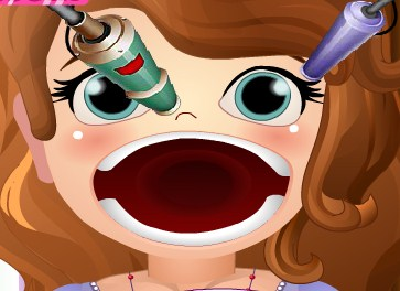 Play Cure Sofias Mouth Game