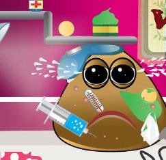 Play Pou Got Varicella Game