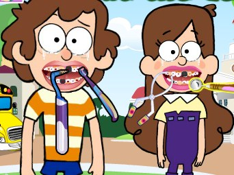 Play Dipper and Mabel at the Dentist Game