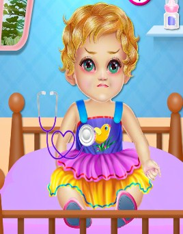 Play Ellie Flu Care Treatment Game
