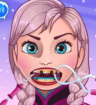 Play Frozen Tooth Problems Game
