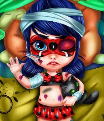 Play Baby Ladybug Injured Game