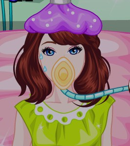 Play Barbie Flu Treatment Game