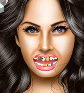 Play Megan Fox at Dentist Game