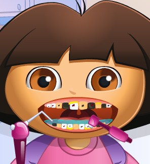 Play Dora Tooth Problems Game
