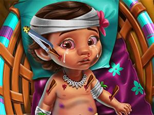 Play Ocean Baby Injured Game