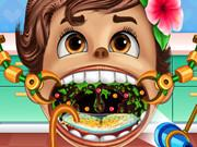 Play Baby Moana Throat Doctor Game
