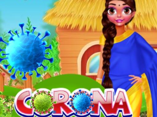 Play Corana Ayurveda Remedy Dress Up Game