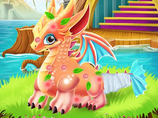 Play Cute Dragon Recovery Game